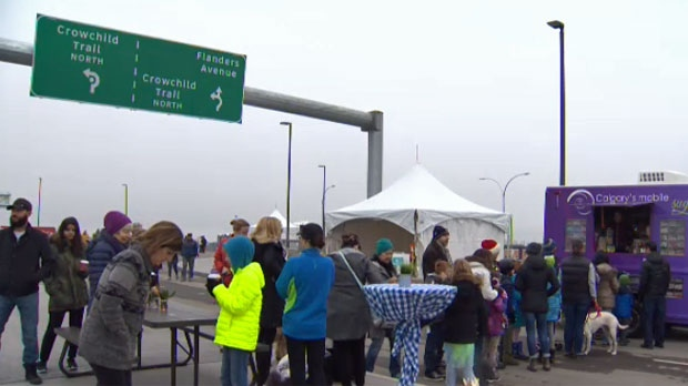 Neighbourhood Residents And Commuters Celebrate Completion Of Flanders Avenue Interchange Ctv