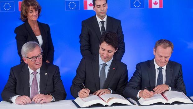 CETA signing