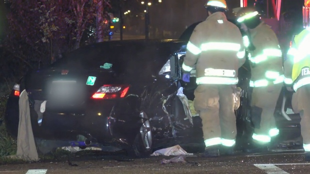 Old Woman Struck And Killed By A Car California