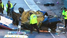 gardiner expressway, fatal crash
