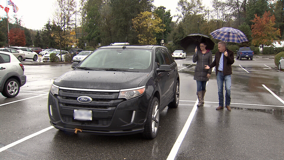 Kristen Chaffe discusses her concerns about her 2014 Ford Edge with consumer reporter Ross McLaughlin.