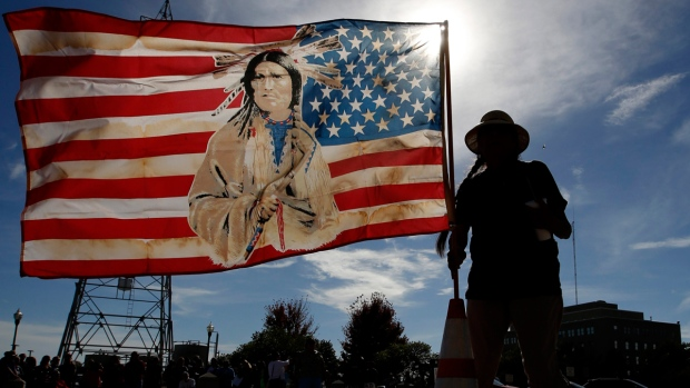 North Dakota officials borrow $4M, slam feds on protest cost