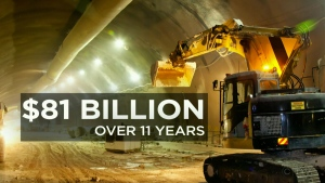 New money for infrastructure