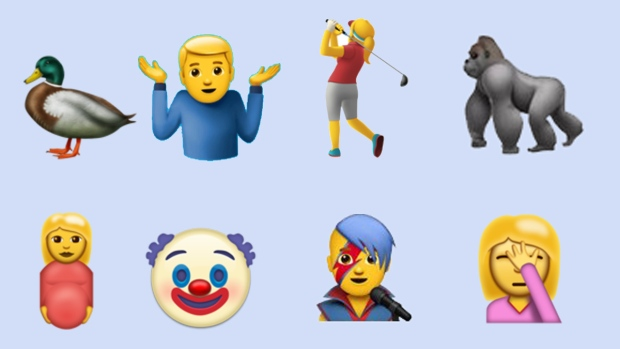 David Bowie, Harambe, face palm among emojis in new iOS