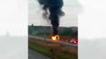 CTV Ottawa: Truck fire on Highway 416