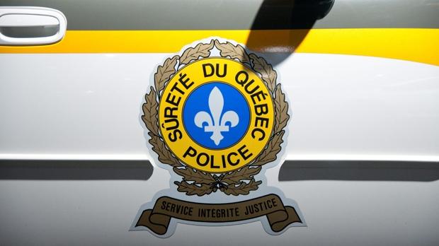 A Surete du Quebec police crest is seen on apolice cruiser door. (The Canadian Press Images-Mario Beauregard)