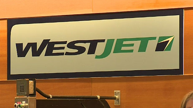 WestJet sign