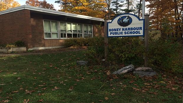 Honey Harbour Public School can be seen in Honey Harbour, Ont. on Thursday, Nov. 3, 2016. (Mike Walker/ CTV Barrie)