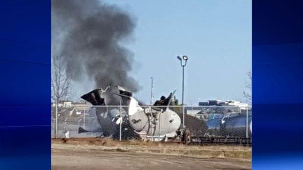 Red Deer Explosion, fatal explosion, tanker truck