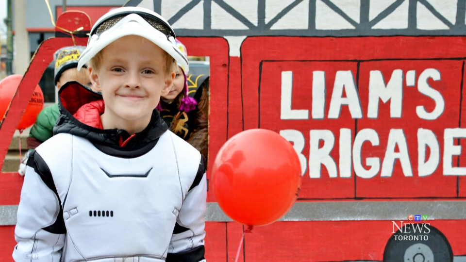 Six-year-old Liam Cuttle was diagnosed with stage four, high-risk neuroblastoma, a type of childhood cancer, just before his fourth birthday.