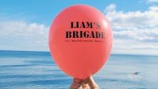 Liam's Brigade balloon
