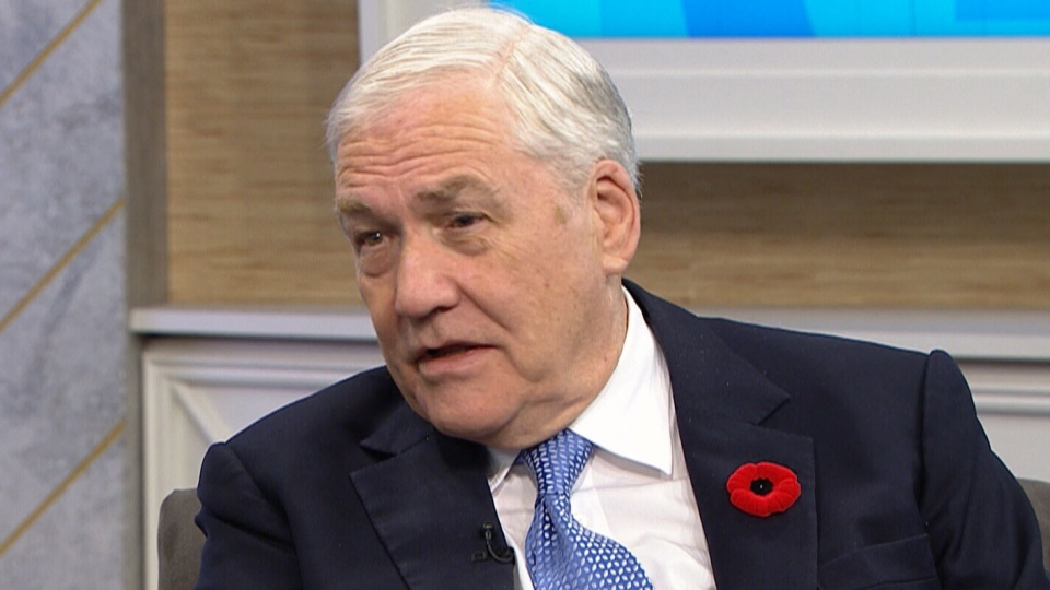 Conrad Black appeared on CTV's Your Morning on Friday, to promote his new book featuring a selection of his columns written over 45 years, Backward Glances.
