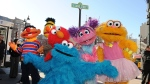 Sesame Street characters. (Stan Honda/AFP Photo)