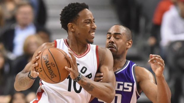 Cousins, Gay help Kings top Raptors 96-91 to end skid
