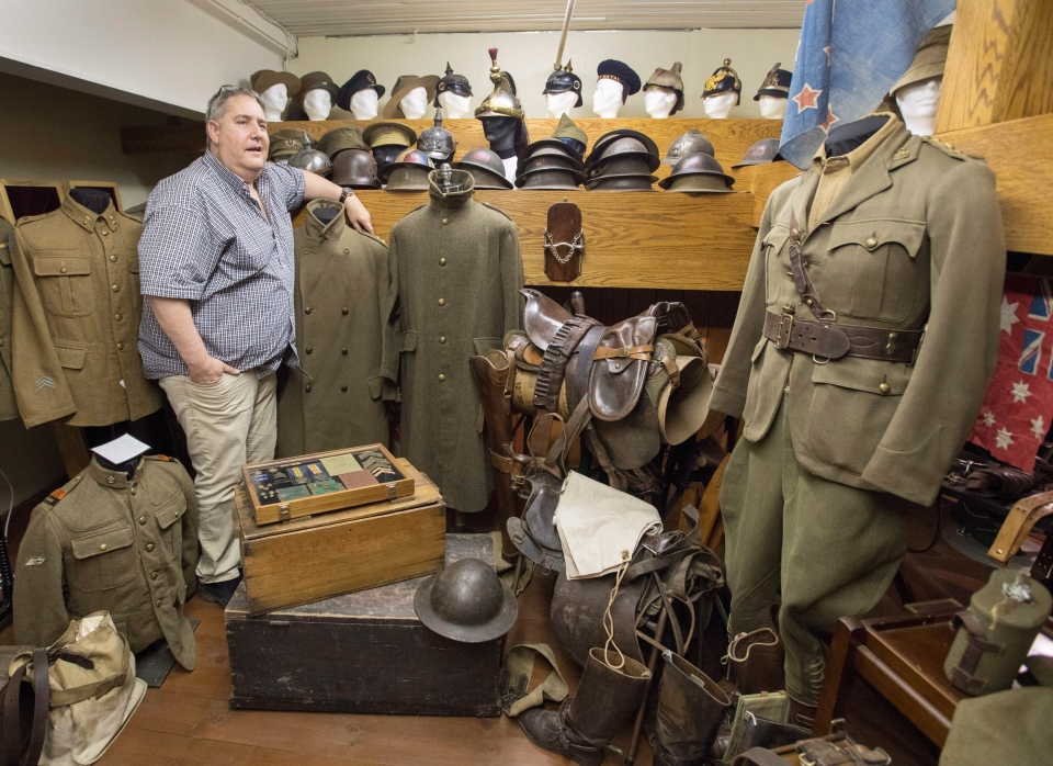 A Trove Of Canadian First World War Artifacts On Display