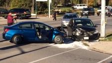 Colborne and Gilkison crash