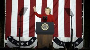 Clinton campaigns in Philadelphia