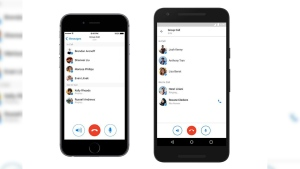 Facebook Messenger showing group chat (David Marcus/Facebook)