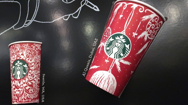 Snowflakes, Santa look to be back on Starbucks holiday cups