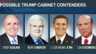 CTV News Channel: Who will fill Trump's cabinet?