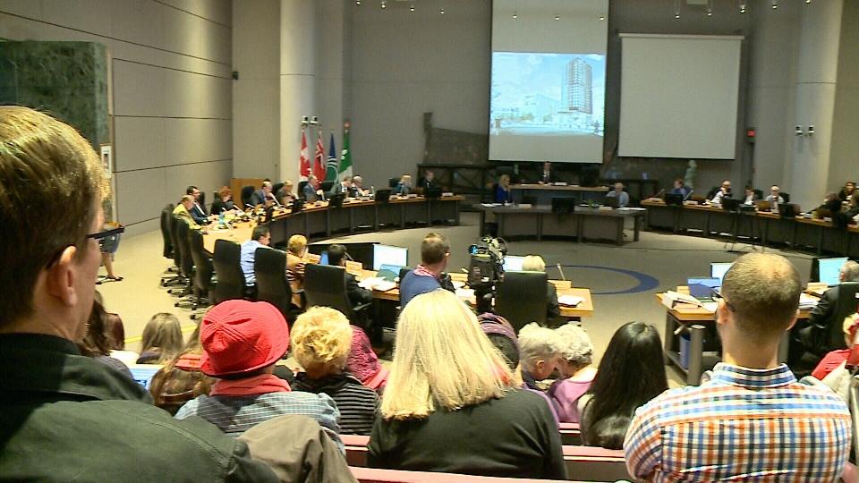 Ottawa city hall tables draft budget.