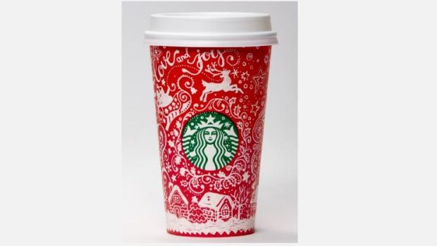 Starbucks Plucks Two Canadian Designs For Seasonal Red Cups Ctv News