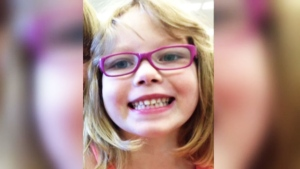 Nia Eastman, 7, is seen in this photo issued by RCMP.