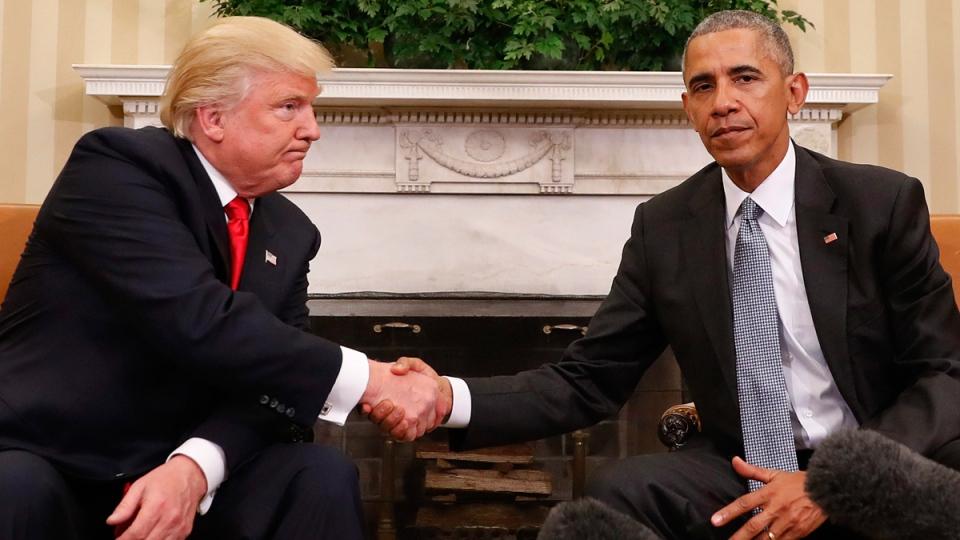 Mr Trump Comes To Washington Triumphant Tour For The Victor Ctv News