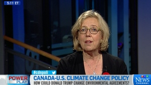 Elizabeth May on Power Play