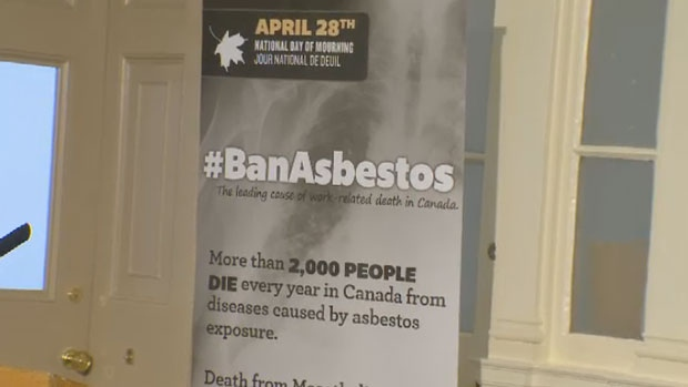 The CLC says more than 2,000 people die every year after exposure to asbestos.