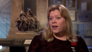 Silver Cross Mother Colleen Fitzpatrick, mother of Cpl. Darren Fitzpatrick, speaks to CTV News.