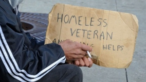 The number of homeless veterans that Veterans Affairs Canada is aware of has grown every year since 2015.