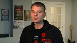 Veteran Jim Lowther of Halifax, N.S., speaks to CTV News.