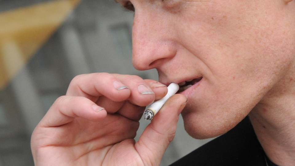 About 22 per cent of Saskatchewan people aged 15 to 19 are smokers compared to a national average of about eight per cent. (Karen BLEIER/ AFP)