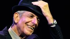 Leonard Cohen performs in 2009