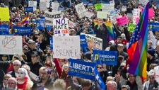 Indiana protest against anti-gay law