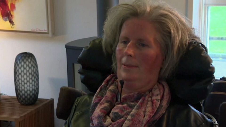 In 2008, Hanneke De Bruijne, a mother of three, was diagnosed with ALS.