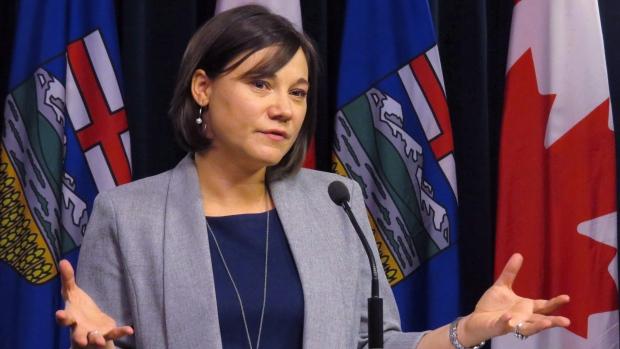 Alberta Environment Minister Shannon Phillips