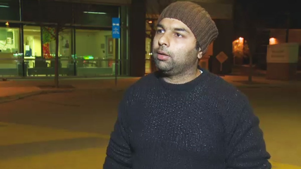 Amarjit Mann, 34, says he was driving on Sunday morning, when he felt his Samsung Galaxy S7 smartphone getting warm in his pocket