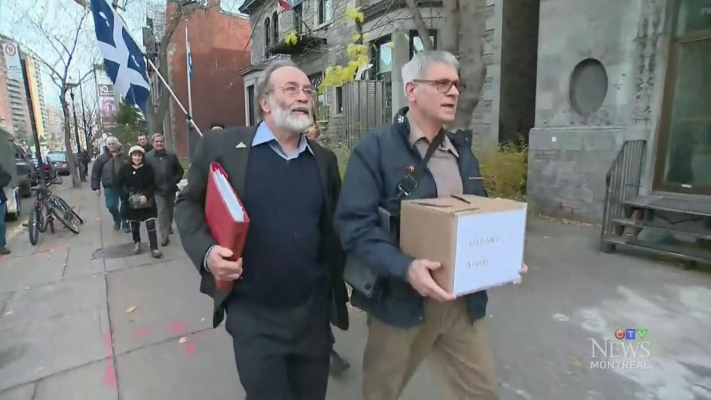 CTV Montreal: SSJB complaints about websites