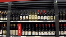 Liquor in grocery stores