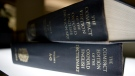 An Oxford English Dictionary is shown at the headquarters of the Associated Press in New York on Sunday, Aug. 29, 2010. (AP/Caleb Jones)
