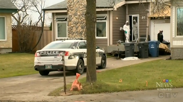 The emergency call WPS received, which lead them to the home, was made by a person connected to the individuals. (Source: Stephanie Tsicos/CTV News)