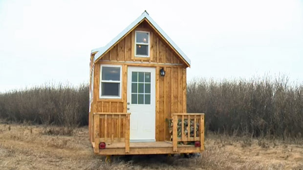 A Rocky View County enforcement order has demanded the removal of Gregg Taylor's tiny house from a property on Springbank Road