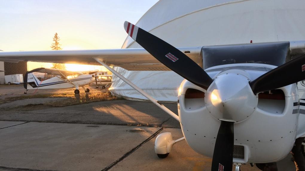 Saskatoon Police Service airplane