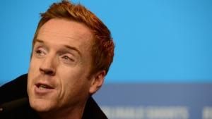 """Run This Town"" will make its world premiere at the Texas-based South by Southwest Film Festival in March and features ""Homeland"" star Damian Lewis as former mayor Rob Ford. (JOHN MACDOUGALL/AFP)"