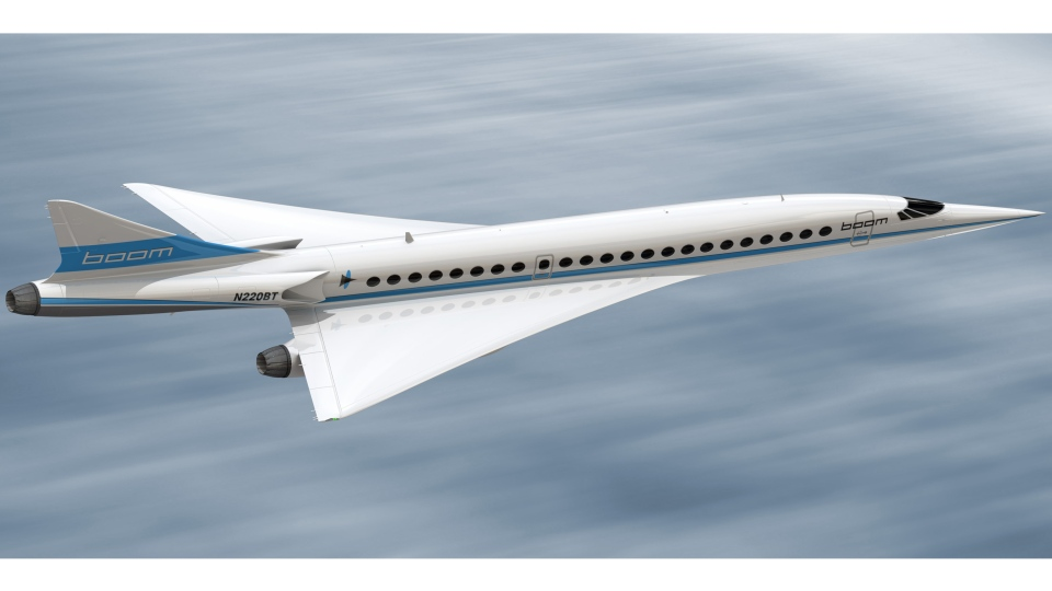 Boom supersonic jet. (Relaxnews)