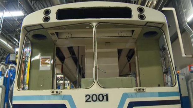 Calgary Transit CTrain car 2001