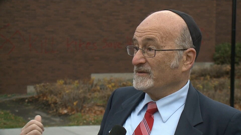 Rabbi Reuven Bulka says despite similar occurrences in the United States, he did not want to draw any conclusions about the reasons behind it.