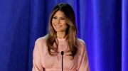 Melania Trump, wife of then-Republican presidential candidate Donald Trump speaks in Berwyn, Pa. on Nov. 3, 2016. (Patrick Semansky/AP)